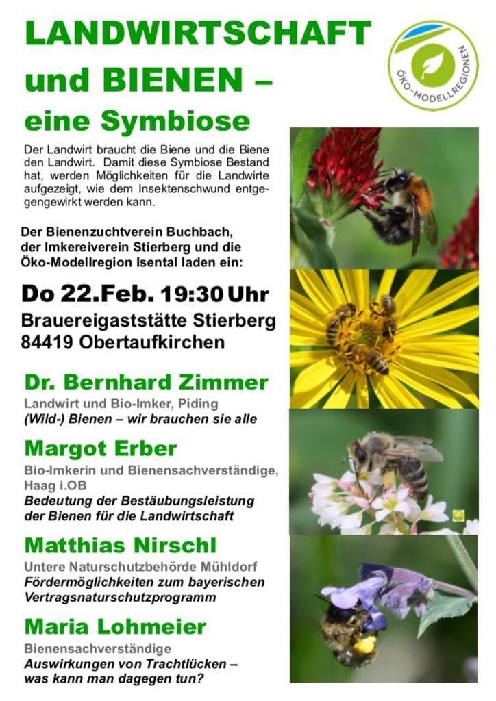 Symbiose Landwirtschaft und Bienen