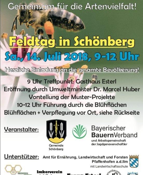 Feldtag in Schönberg 14.07.2018