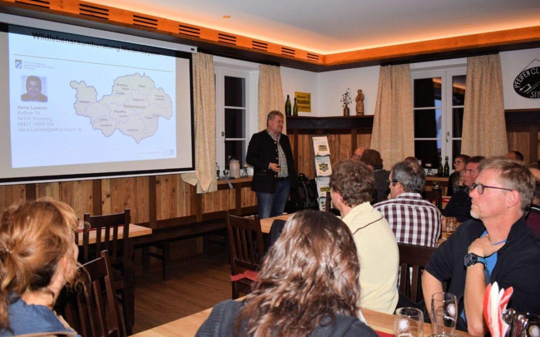 Herbstversammlung mit Vortrag von Wildlebensraumberater Hans Laumer