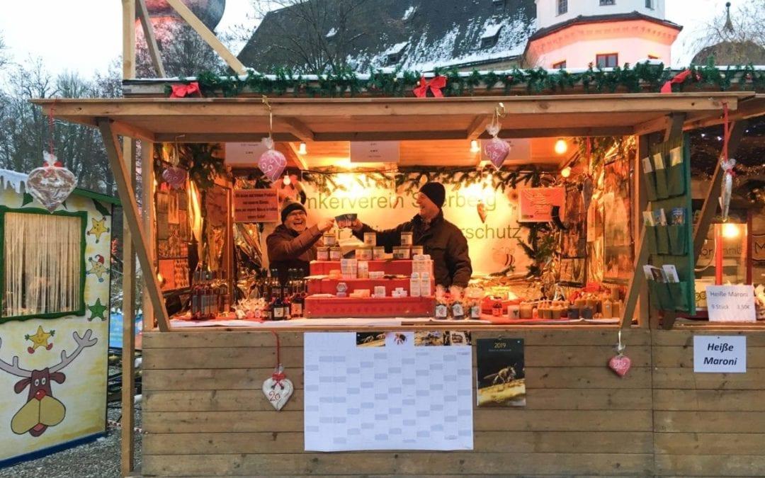 Schwindegger Weihnachtsmarkt 2019 mit Vereinsstandl