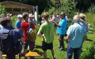 Stierberger Imker zu Besuch in Piding – Vereinsausflug 2019