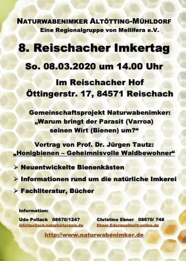 Einladung zum 8. Reischacher Imkertag
