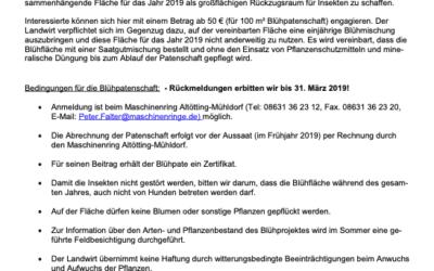 Verlängerung der Aktion: Blühpatenschaft mit RegioSaatgut