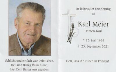 Machs gut lieber Karl
